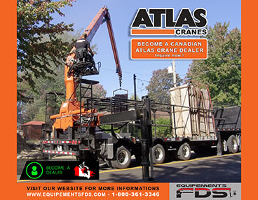 seeking dealers to sell the Atlas Cranes